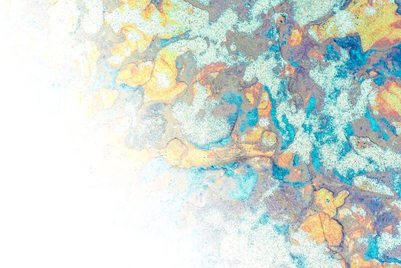 Osadowe skały abstrakcjonistyczni graficznego projekta tła, - colourful skał warstwy tworzył przez cementacji i świadkowania - obraz stock