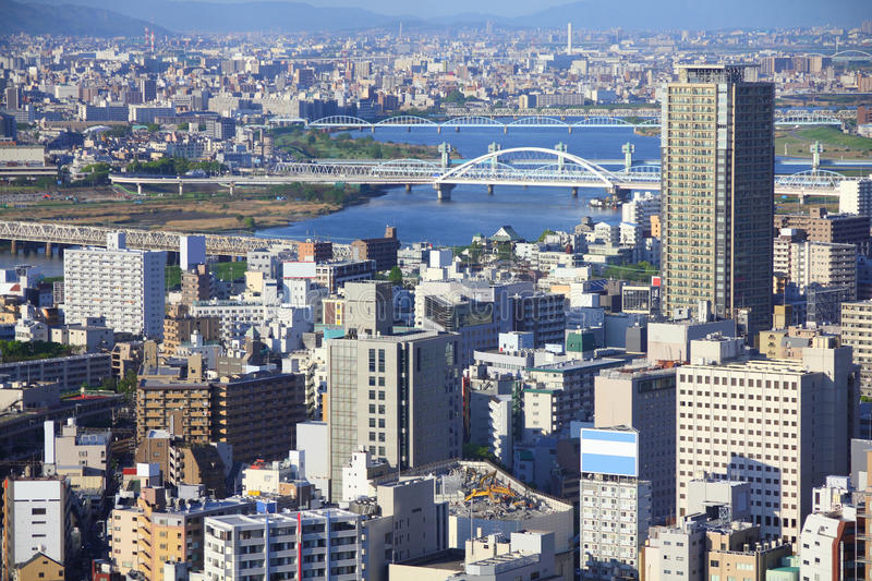 Osaka royalty-vrije stock afbeelding