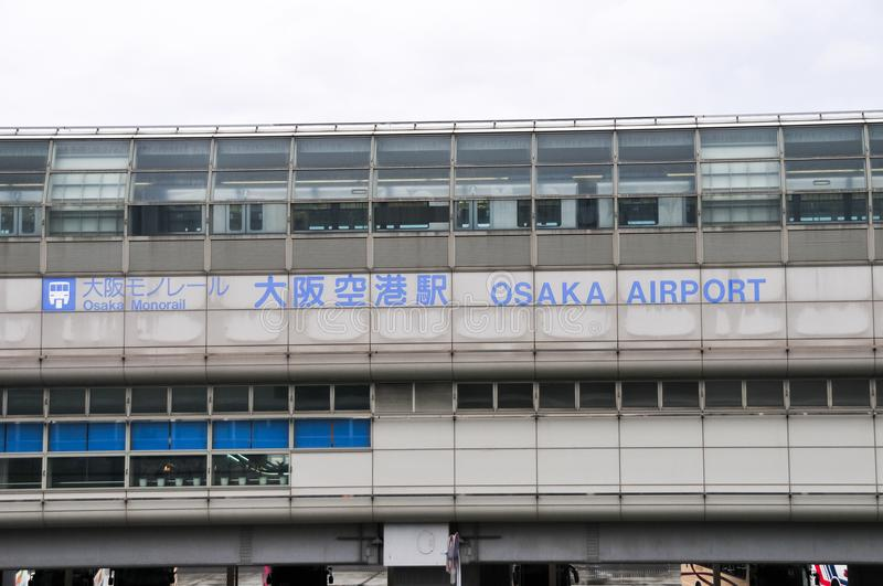 Osaka Airport - le Japon photo stock