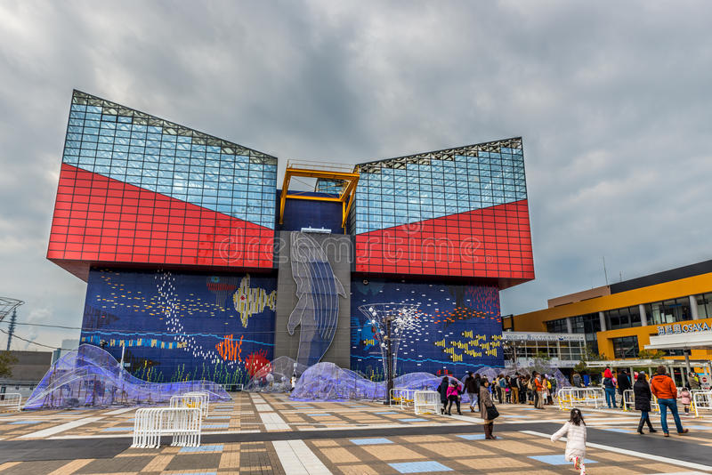 Osaka Aquarium royalty-vrije stock afbeeldingen