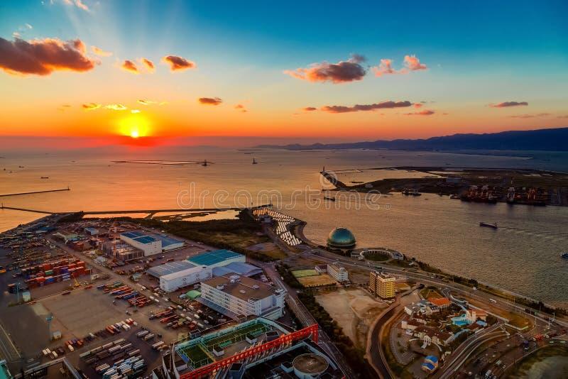 Osaka Bay royalty-vrije stock foto