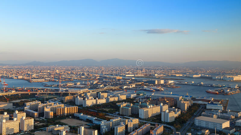Osaka Bay stock afbeeldingen