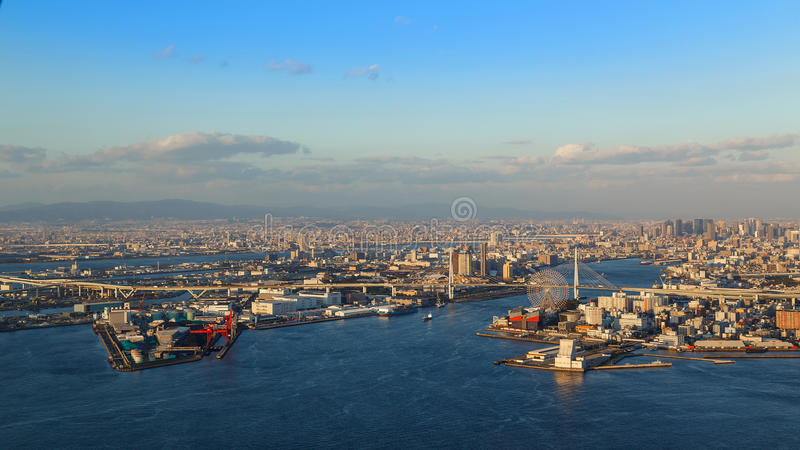 Osaka Bay stock fotografie