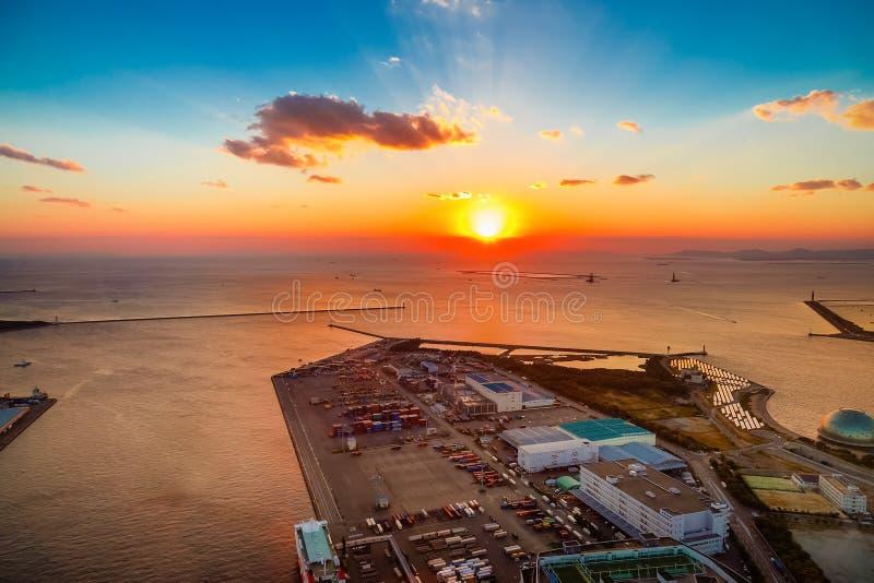 Osaka Bay stock foto's