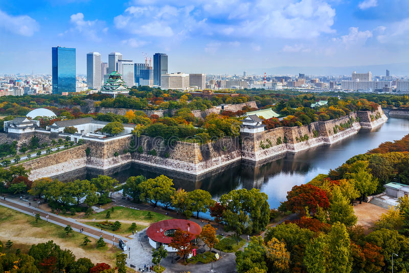 Osaka Castle à Osaka image stock