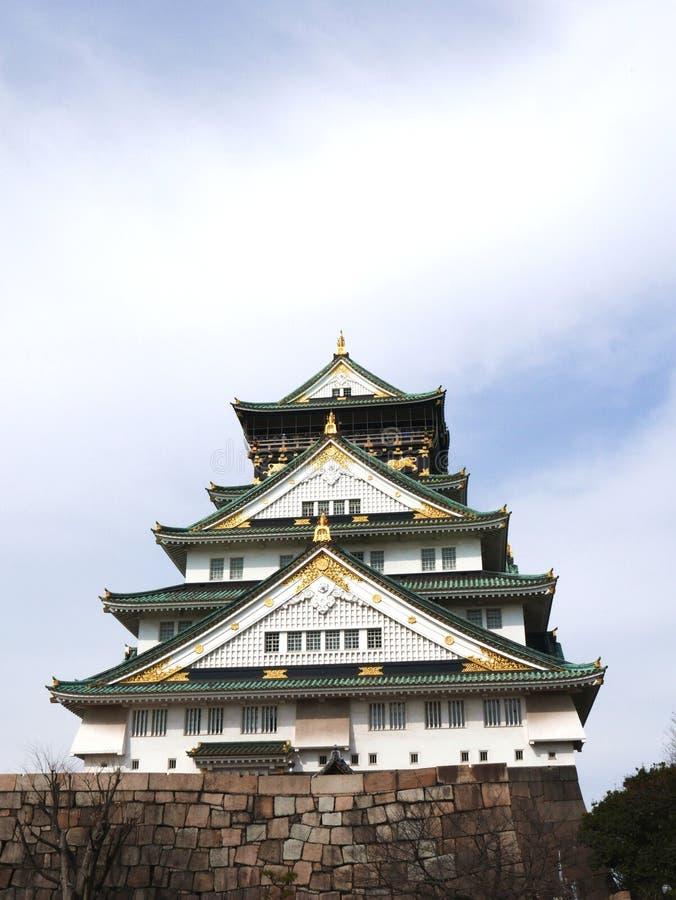 Osaka Castle royalty-vrije stock afbeelding