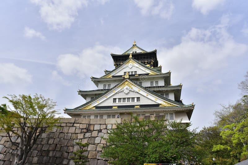 Osaka Castle royalty-vrije stock foto's
