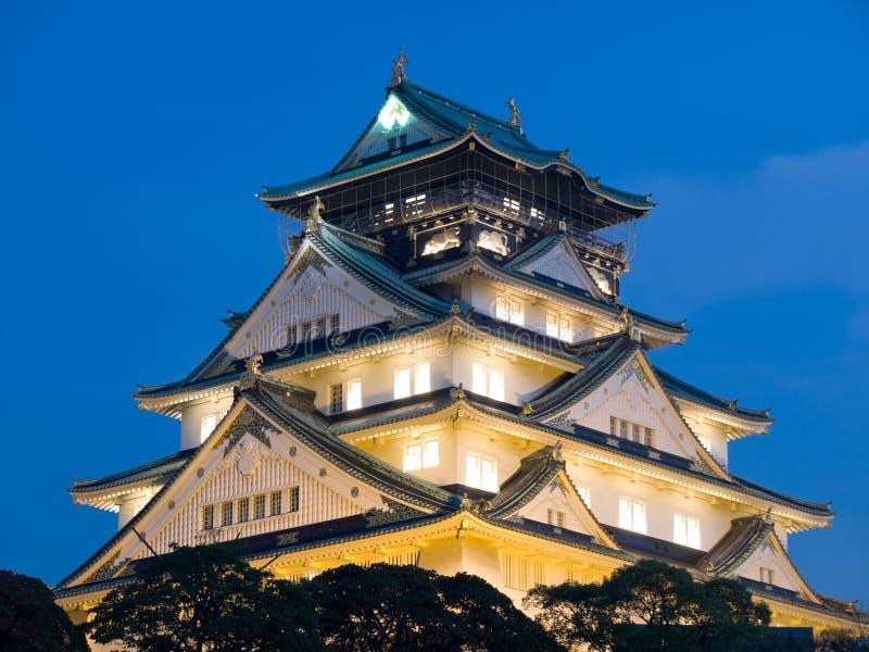 Download Osaka Castle stock photo. Image of city, evening, castle - 3645048