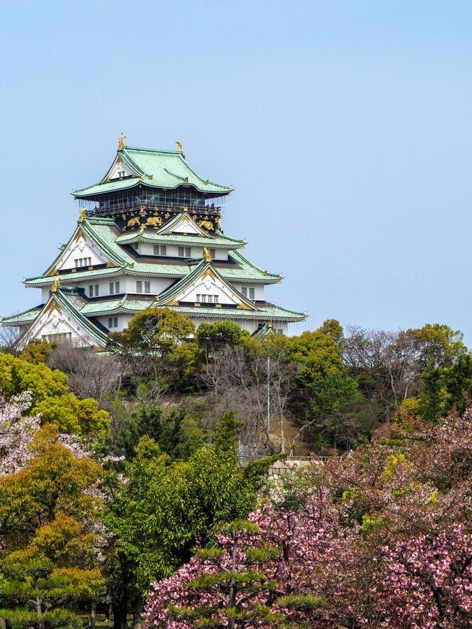 Osaka Castle stock afbeelding
