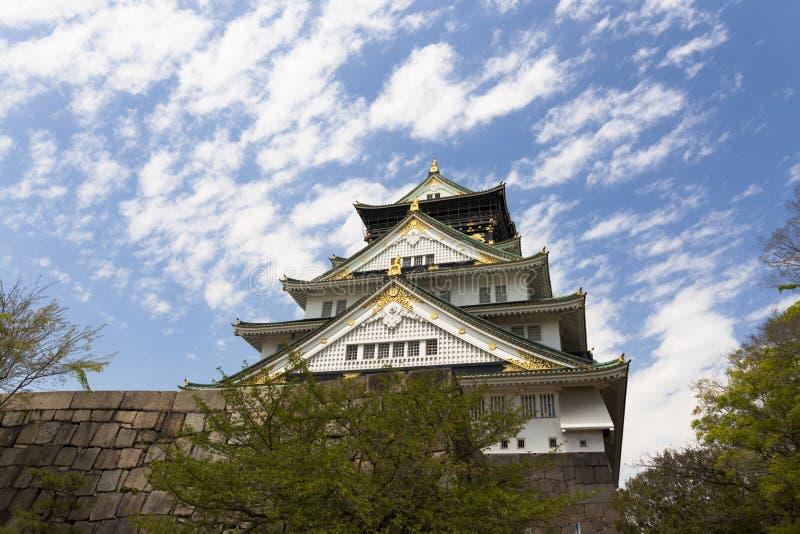 Osaka Castle image stock