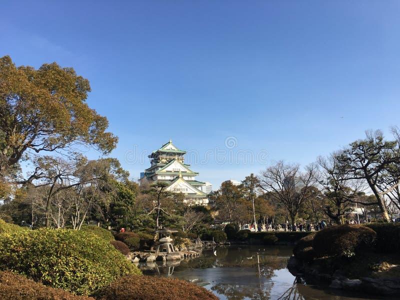 Osaka Castle stock foto