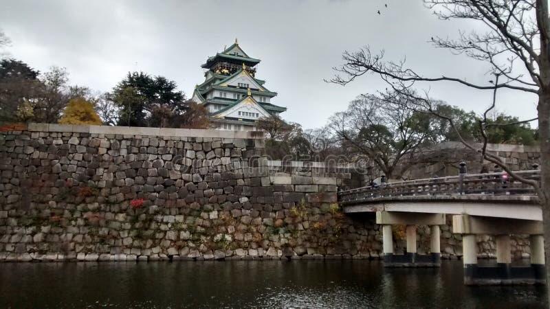 Osaka Castle photo stock