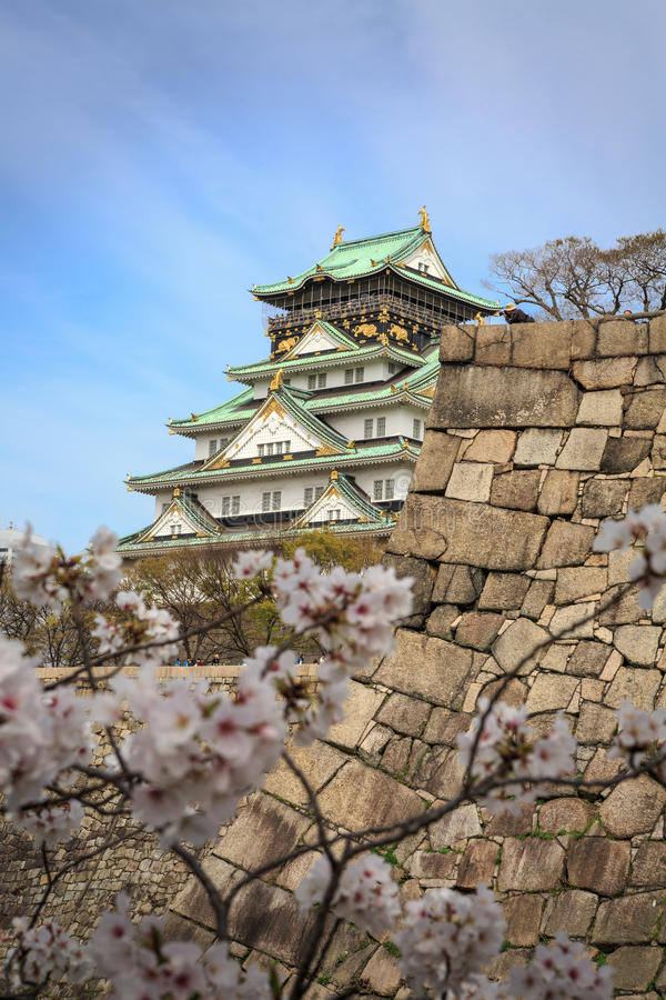 Free Osaka Castle And Cherry Blossom, Osaka, Japan Stock Images - 39061214