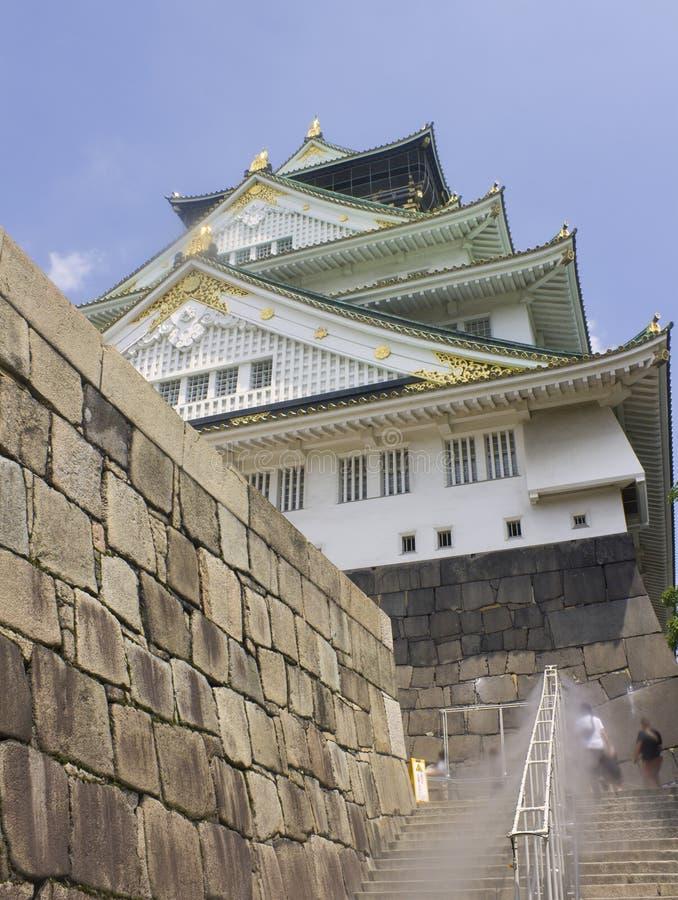 Osaka castle entrance royalty free stock images