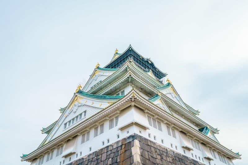 Osaka Castle i Osaka Japan royaltyfri bild