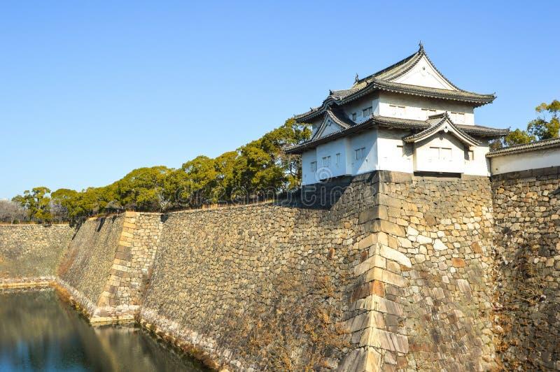 Osaka castle, Japan. stock photography