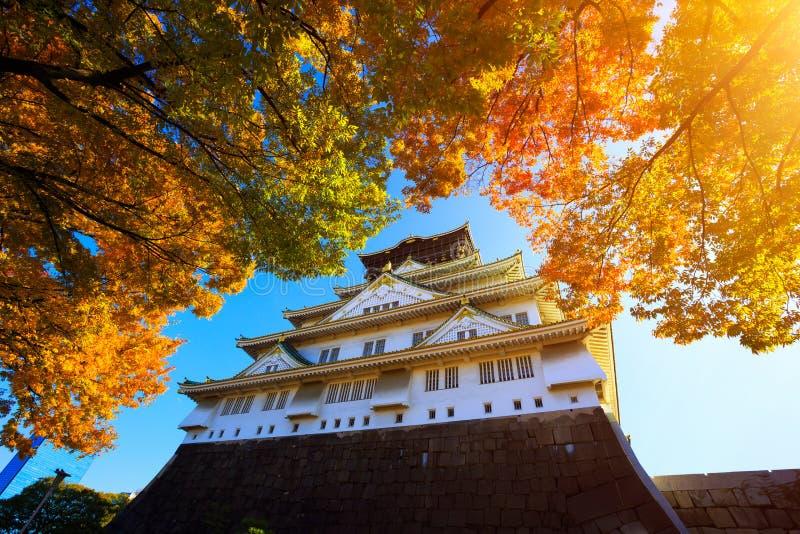 Osaka Castle in Osaka royalty-vrije stock afbeelding