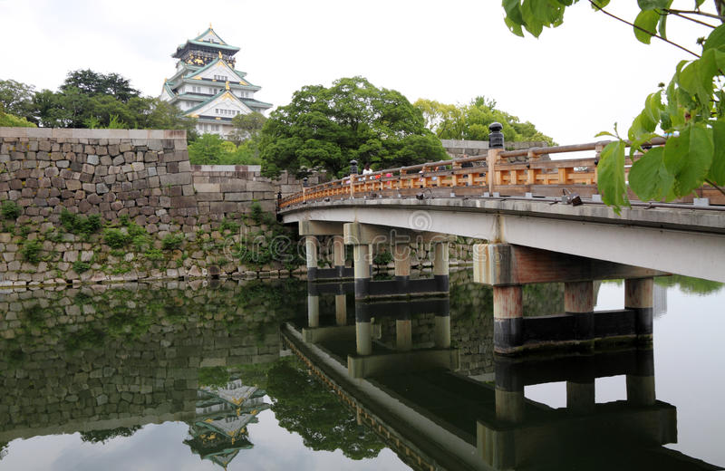 Osaka Castle, Osaka, Japan. stock foto's