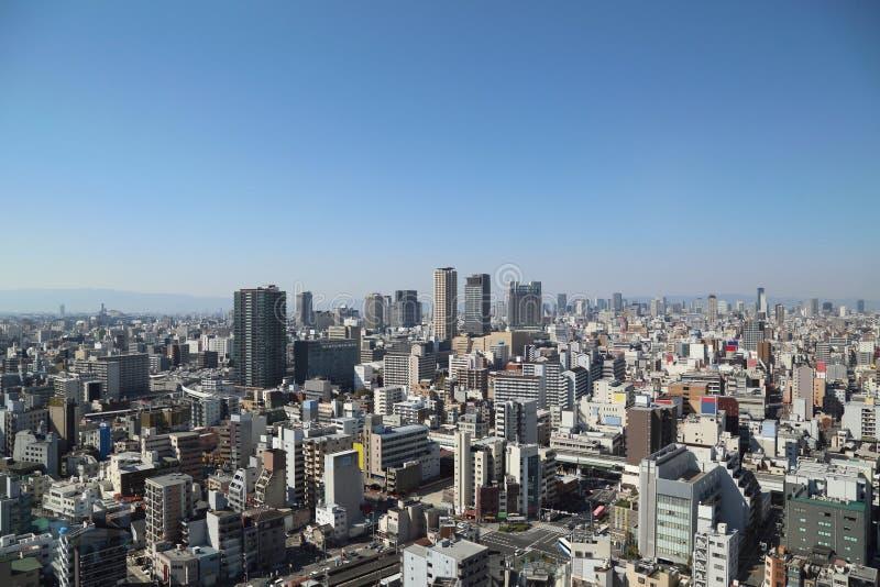 Osaka City royalty-vrije stock foto