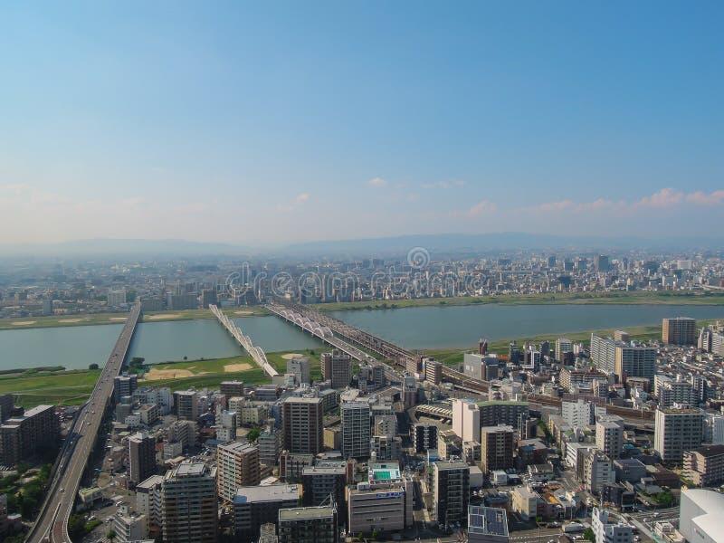Osaka City stock fotografie