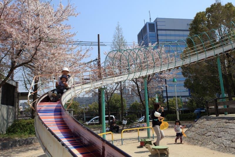 Osaka city, Japan royalty free stock photos