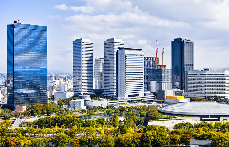 Osaka Cityscape photos stock
