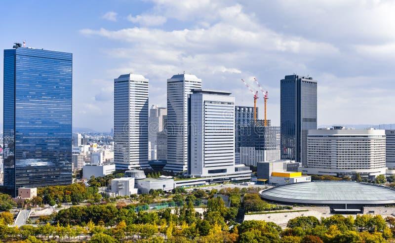 Osaka Cityscape photo libre de droits