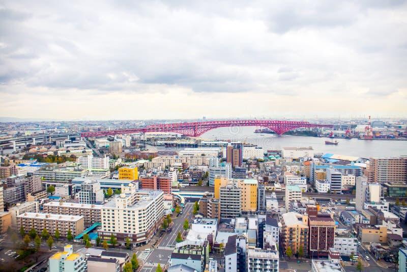 Osaka Cityscape arkivbild