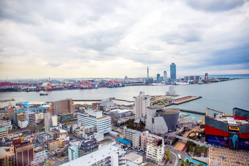 Osaka Cityscape stockfoto