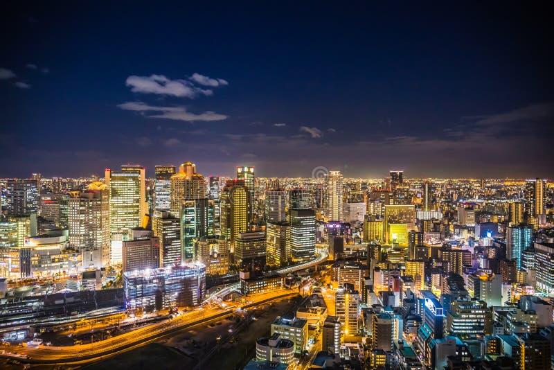 Osaka Cityscape stockbild