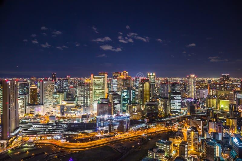 Osaka Cityscape lizenzfreie stockfotos