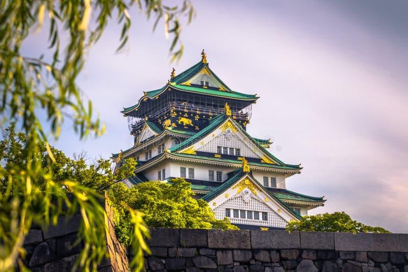 Osaka, Czerwiec - 01, 2019: Kasztel Osaka w Osaka, Japonia zdjęcia stock