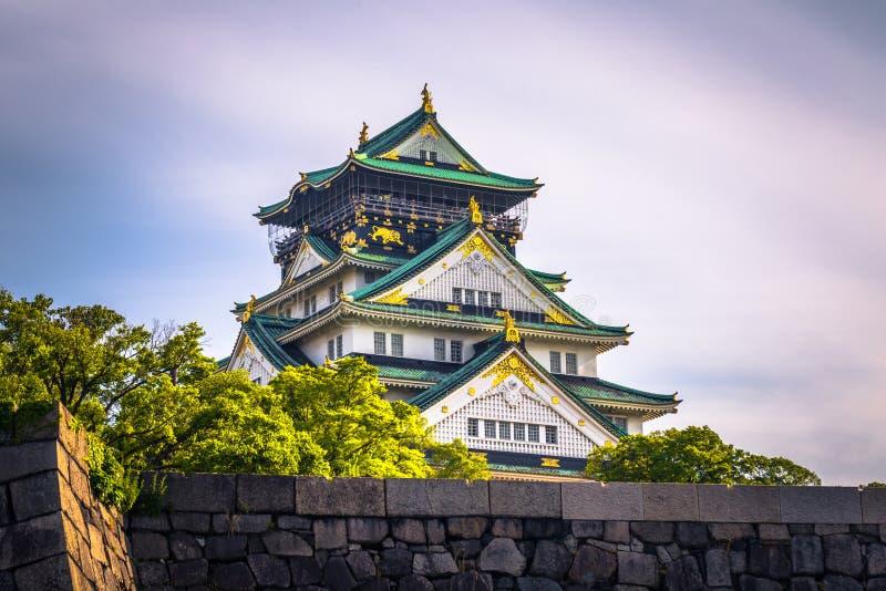 Osaka, Czerwiec - 01, 2019: Kasztel Osaka w Osaka, Japonia zdjęcia royalty free