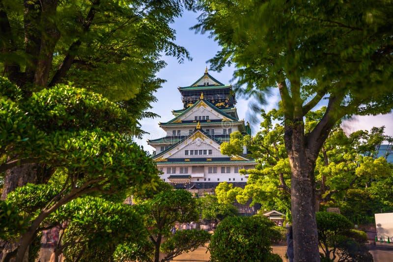 Osaka, Czerwiec - 01, 2019: Kasztel Osaka w Osaka, Japonia zdjęcie royalty free