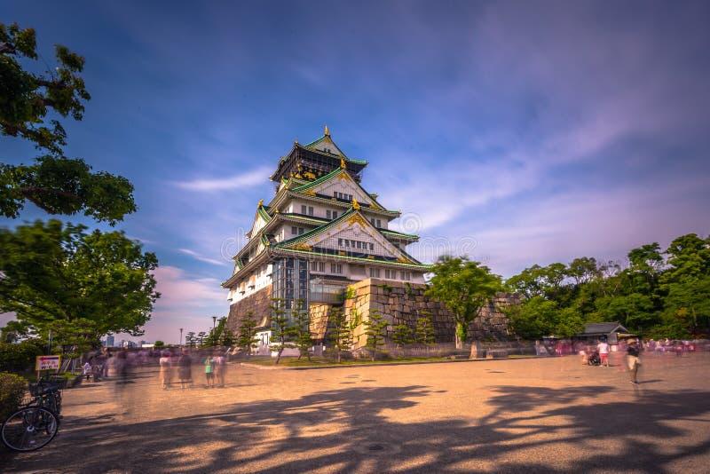 Osaka, Czerwiec - 01, 2019: Kasztel Osaka w Osaka, Japonia zdjęcie stock