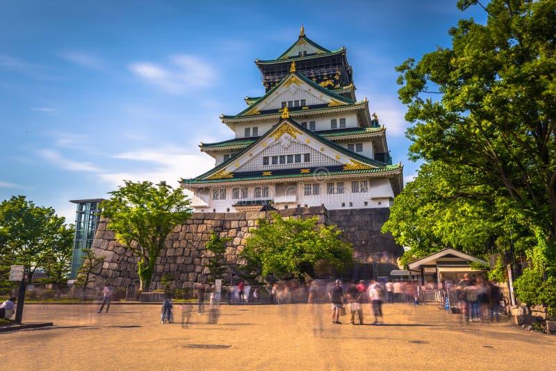 Osaka, Czerwiec - 01, 2019: Kasztel Osaka w Osaka, Japonia obrazy stock