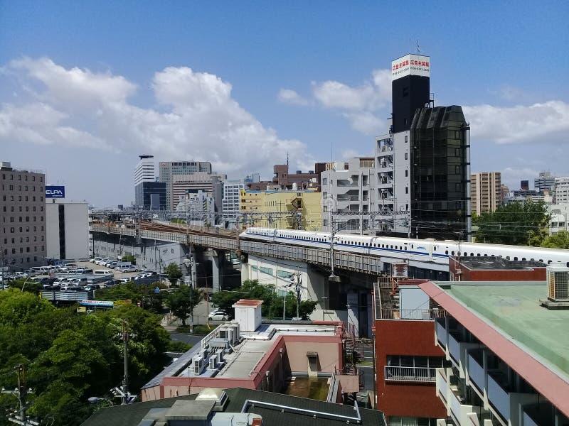 Osaka diaria fotografía de archivo