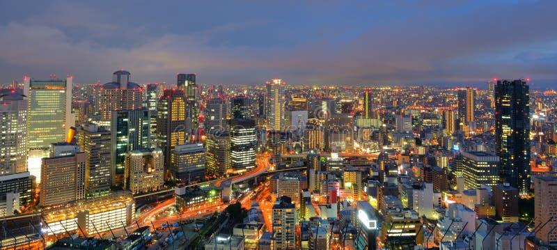 Osaka Giappone fotografia stock