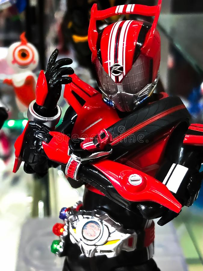 Character Name Is KAMEN RIDER Drive  Editorial Photography