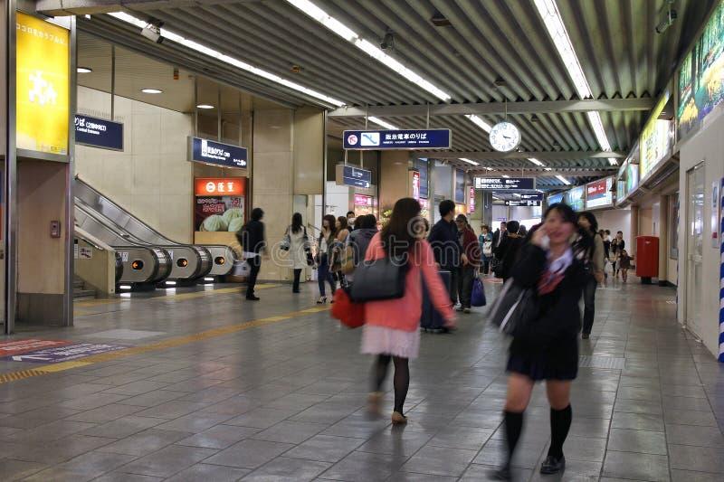 De Post van Umeda, Osaka royalty-vrije stock fotografie