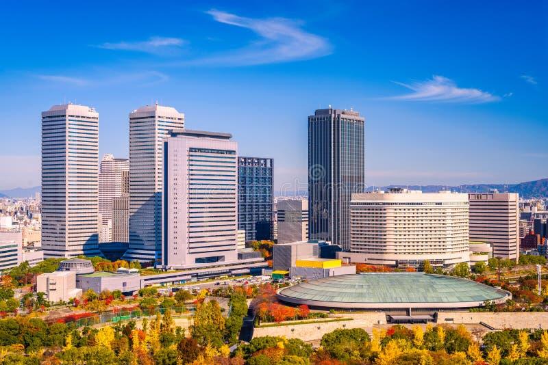 Osaka Japan Business Park royalty-vrije stock foto