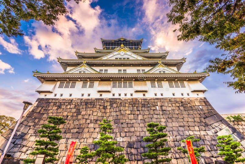 Osaka Japan Castle stock foto's