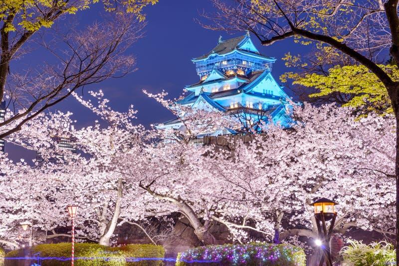 Osaka, Japan Castle stock photos