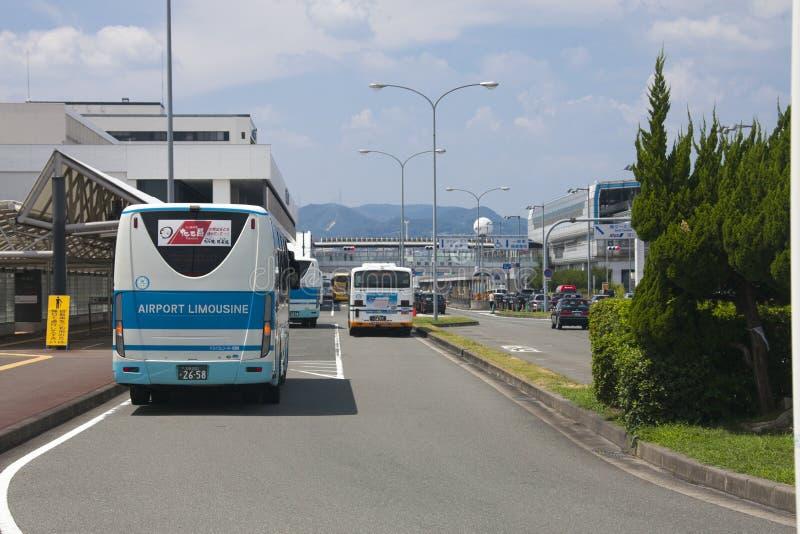 OSAKA, JAPON - 10 AOÛT : Gare routière de limousine d'aéroport en Osaka In image libre de droits
