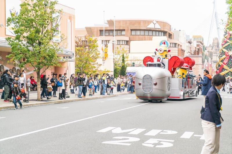 OSAKA, JAPON - 21 NOVEMBRE 2016 : Mascotte de subordonné d'ignoble je dedans photos stock