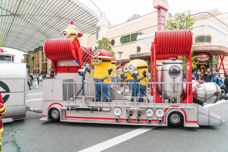 OSAKA, JAPON - 21 NOVEMBRE 2016 : Mascotte de subordonné d'ignoble je dedans photographie stock libre de droits