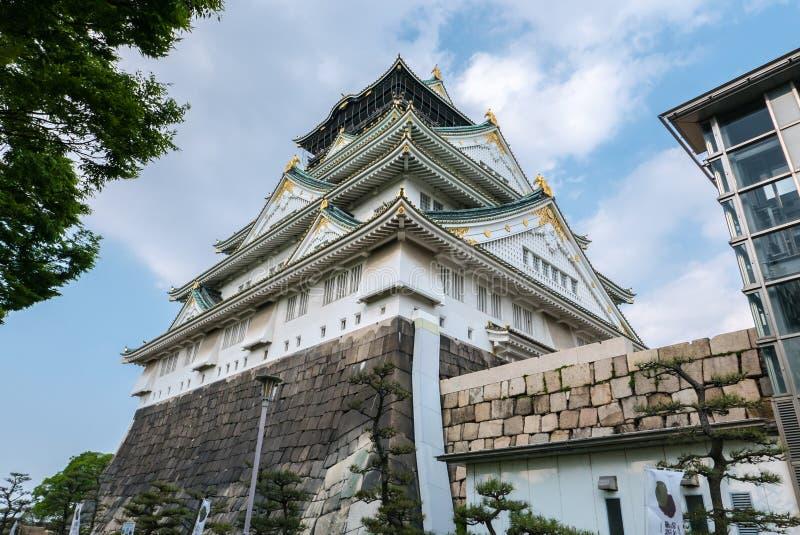 Osaka kasztel obraz stock