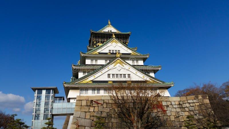 Download Osaka Kasztel W Osaka, Japonia Zdjęcie Stock - Obraz złożonej z błękitny, przyciąganie: 53785304