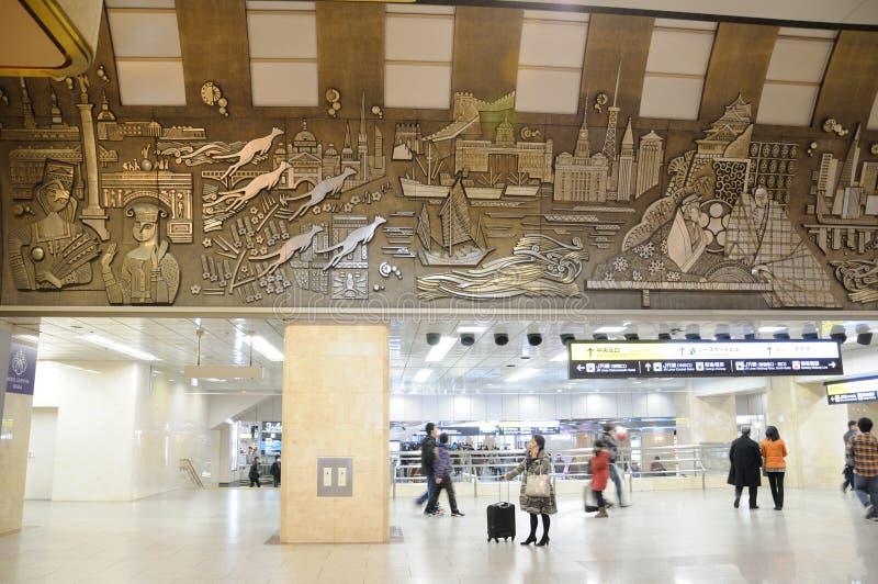 Osaka Metro-station stock fotografie