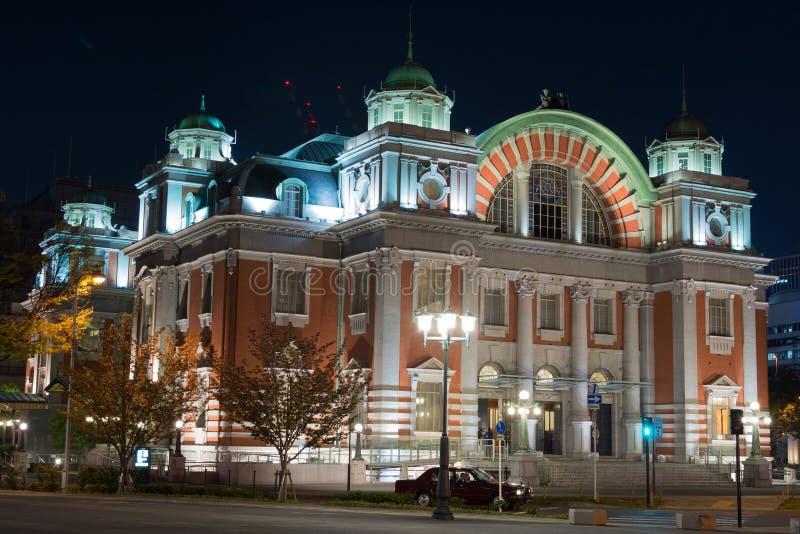 Osaka miasta środkowa jawna sala zdjęcia royalty free